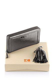 Genuine calfskin leather gift set 'Gledis'