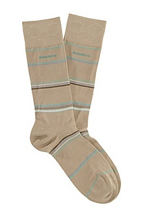 Multi-coloured striped socks 'RS Design'