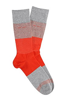 Socks with block stripes 'RS Design'