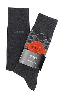 Chaussettes, lot de 2 paires, Twopack RS Design