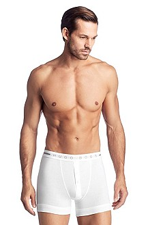 Boxer shorts with a fly 'Boxerwoven BF BM'