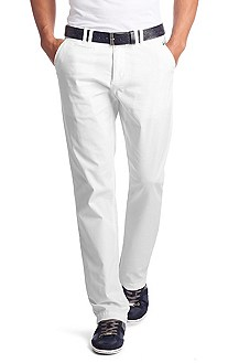 Casual, gabardine trousers 'Lillon 7-D'