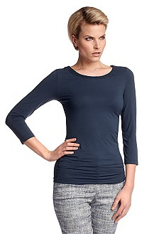 Long sleeve top with 7/8-length sleeves 'E4662'
