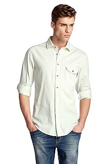Casual shirt with a Kent collar 'EworkerE'