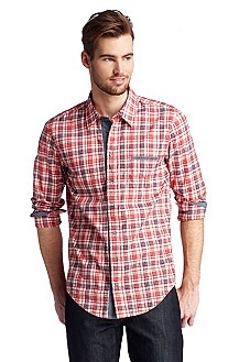 Casual shirt with a Kent collar 'CieloebuE'