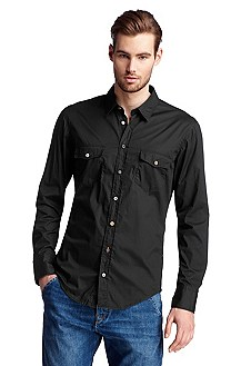 Casual shirt with a Kent collar 'EddaieE'