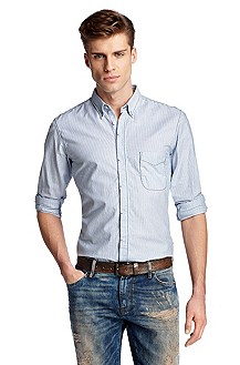 Casual shirt with a button-down collar 'Coronado