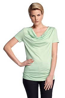 Cowl neck T-shirt 'E4844'