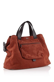 Leather shopper 'Elisir`