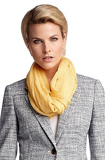 Elegant scarf in pure silk 'SC490'