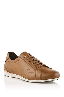Calfskin leather sneaker 'Laverro'