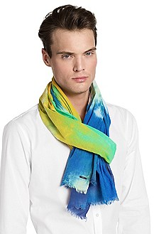 Cotton scarf 'Men-Z 385'