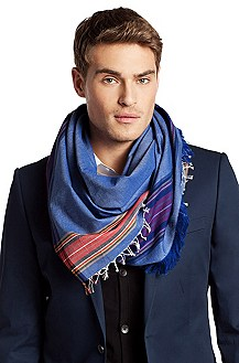 Cotton scarf 'Men-Z 387'