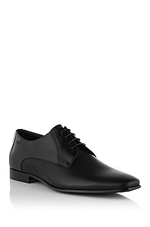 Leather lace-up shoe with perforations 'Sliko'