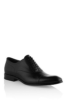 Calfskin leather lace-up shoe 'Romalvio'