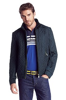 Quilted jacket with a stand-up collar 'Jammy'