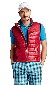 Bodywarmer in a quilted look 'Vierkant'