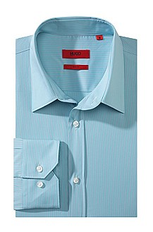 Slim fit business shirt, Kent collar 'Elisha'