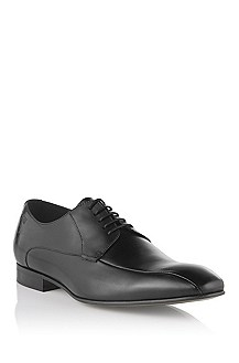 Calfskin leather lace-up 'Metrio'