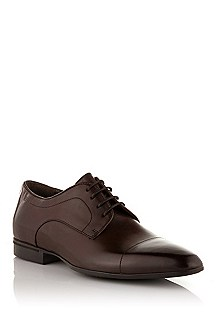 Lace-up shoe in fine calfskin leather 'Neddo'