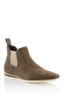 Nubuck leather ankle boot 'Eclors'