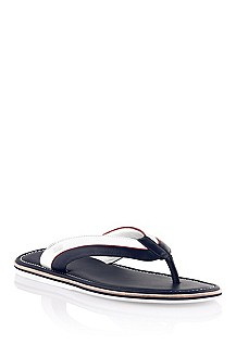 Leather flip flop 'Brisio'