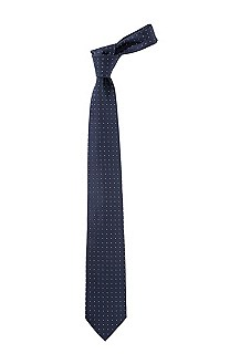 Cravate en pure soie, Tie 7,5 cm, Travel Line