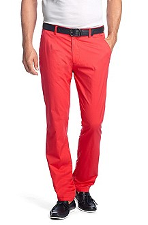 Cotton blend trousers with elastane 'Stean-W'