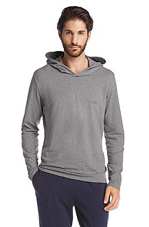 T-shirt à capuche, Shirt Hooded LS BM