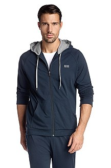 Hooded, sweatshirt jacket 'Jacket Hooded BM'