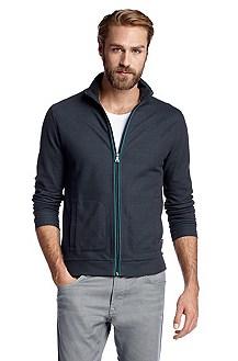 Zip jacket with a stand-up collar 'Pacentro 15'