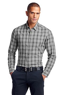 Casual shirt with a Kent collar 'Bugsville'