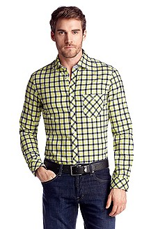 Casual shirt with a Kent collar 'Boreale'