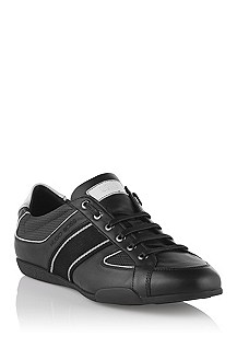 Calfskin leather lace-up 'Birto'