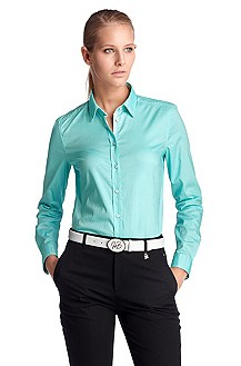 Casual blouse with a Kent collar 'Cetania'