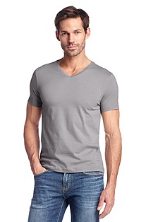 Slim fit T-shirt 'Canistro 80 Modern Essential'