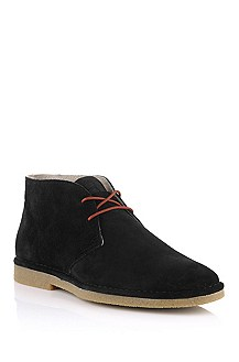 Suede lace-up shoe 'Mides'