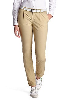 Casual cotton trousers 'Heliah-3-D'