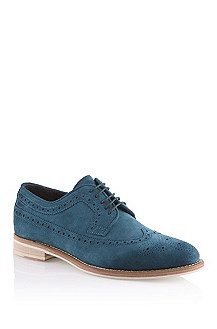 Suede lace-up shoe 'Ofero'