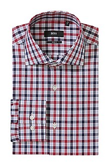 Slim Fit casual shirt made of cotton 'Jaron'