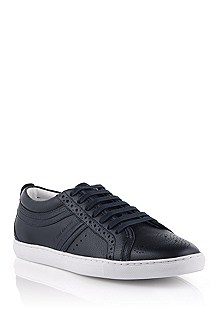 Calfskin leather sneaker 'Lostol'