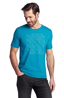 T-shirt Regular Fit, Terni 87