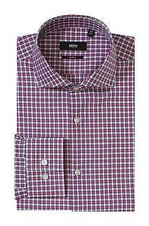 Business shirt with narrow Kent collar 'Jason'