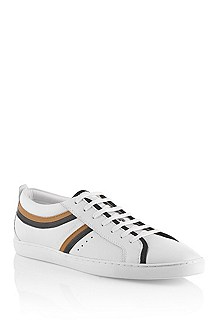 Calfskin leather sneaker 'Lossio'