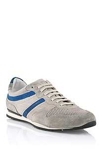 Canvas and leather sneaker 'Orlero'