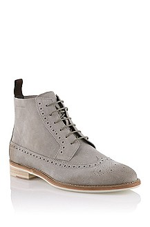 Bottines en cuir velours, Ofesio
