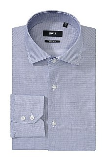 Regular fit cotton business shirt Gordon'