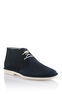 Leather lace-up shoe 'Mideo'