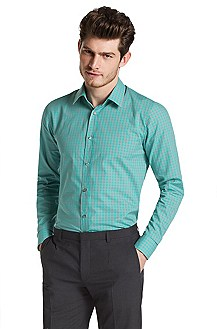 Slim Fit casual shirt with a Kent collar'Elisha'