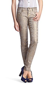 Slim fit jeans 'Lunja1 gold'
